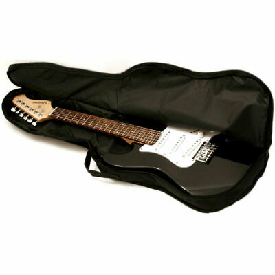 1/2 Size Electric Guitar Padded Soft Case Cover Gig Bag faulty end of metal zips