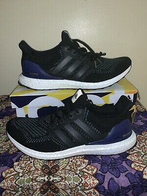 size 40 3643c 63000 Adidas Ultra Boost Ultraboost OG 1.0 Core Black Purple UK 11