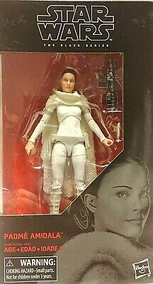 "Star Wars Black PADME AMIDALA #81 MIB 6/"" Inch Attack of the Clones AotC In Hand"