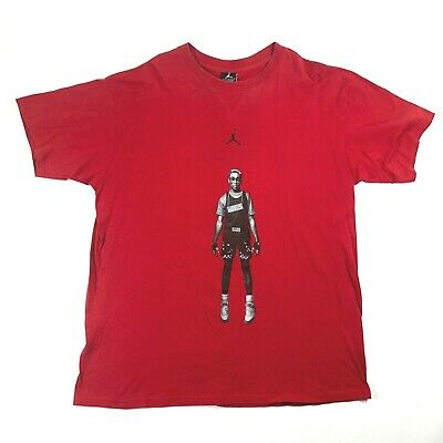 ebb9c489900b67 Air Jordan The Best On Mars Blackmon Spike Lee Tee T Shirt Mens L Red VTG