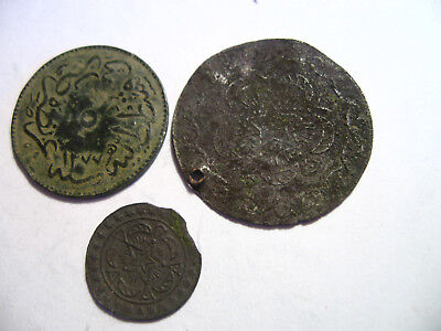 Ottoman Empire Turkey Lot of 3 Coins /83k