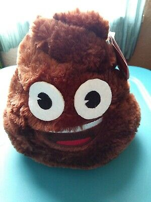 Emoji Poo Plush Bank