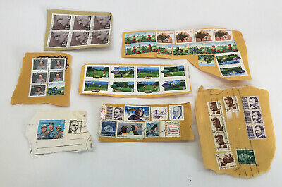 LOT Assorted Circulated Cancel Stamps Canada Germany USA Queen Elizabeth II JFK