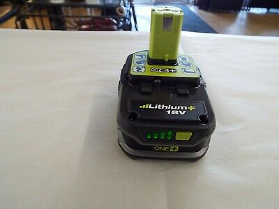 New 4.0AH 18V Lithium-Ion Battery for Ryobi One Plus P107 USED