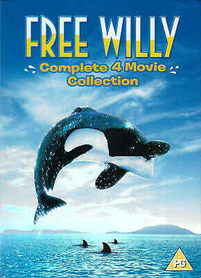 Free Willy 1 2 3 4 Complete Films Collection New Includes All 4 Movies 4 Dvd