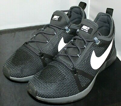 newest collection 5df1b dd344 Nike Duel Racer Running Shoes Black Gray White 918228-007 Men s Size 9