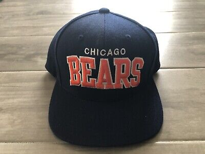 9dabcc1a MITCHELL & NESS NFL Vintage Collection CHICAGO BEARS Snapback Hat Cap