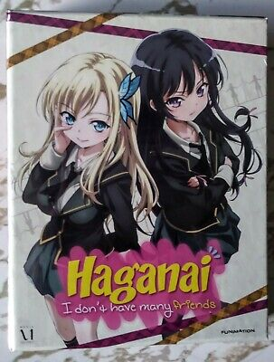Haganai: I Dont Have Many Friends: The Complete First Season (Blu-ray/DVD, 2013…