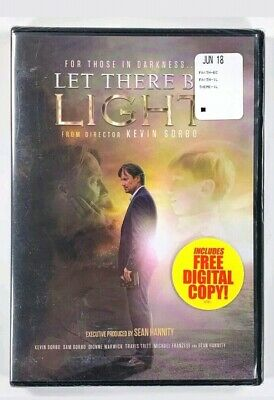 Let There Be Light (DVD, 2018) New Sealed + Share The Light Book 40 Devotions