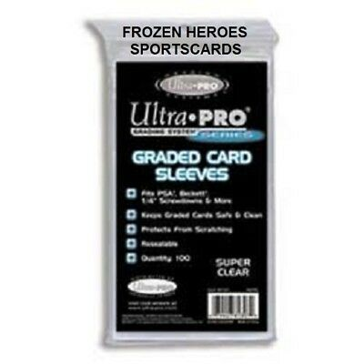 Ultra Pro Card Sleeves Graded (100 Per Pkg)**Discounts**Free Shipping Promo*