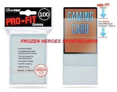 Ultra Pro Pro-Fit Soft Sleeve (100/Pkg)**Discounts**Free Shipping Promo*