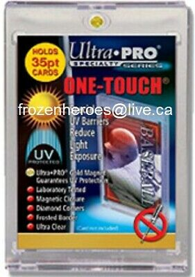 Ultra Pro 35Pt One Touch Magnetic Holder Uv Protection**Free Shipping Promo*