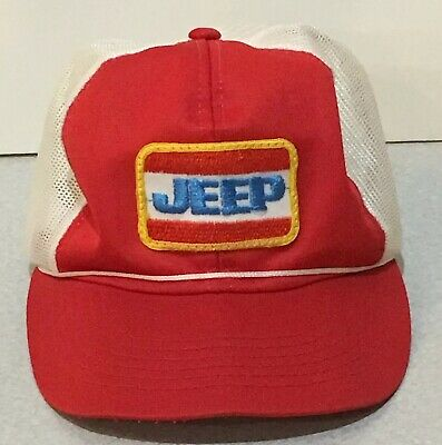 92b451beb37da VINTAGE JEEP MESH Trucker Hat Young An Hat Company -  12.50
