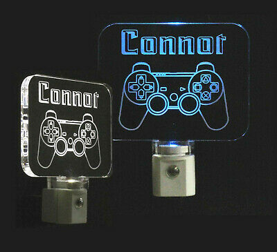 Video Game Controller Personalized LED Night Light- Boys light, lamp