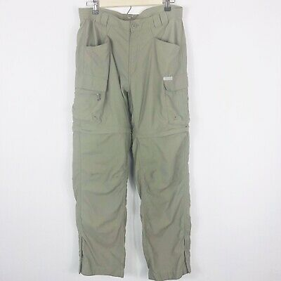 Columbia Titanium Womens Sz Medium Convertible Hiking Trail Travel Pant Packable