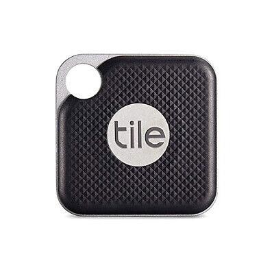 Tile Pro with Replaceable Battery - Black