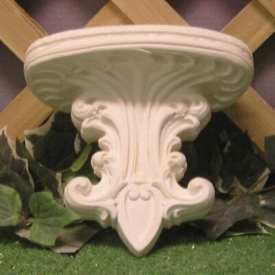L Corinthian Fleur De Lis Shelf Bracket Corbel Latex Fiberglass Production Mold