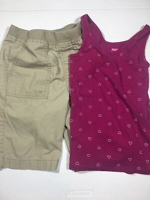 3d007428b NEW GIRLS OLD Navy FadedGlory Babydoll 2Fer Short Sleeve Graphic Top ...