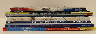 Children's Book Lot of 12 Diff. books. Learn About Presidents, retail over $130!
