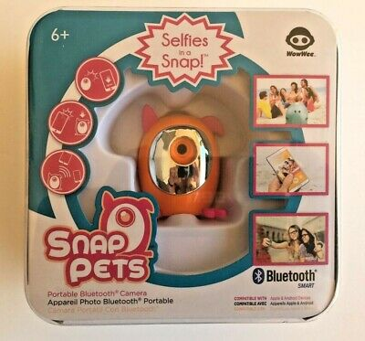 Snap Pets Portable Bluetooth Camera