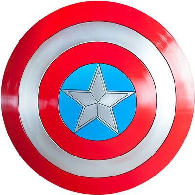 Avengers Captain America Shield Replica Cosplay Props Gift 1:1 Full ABS Shield
