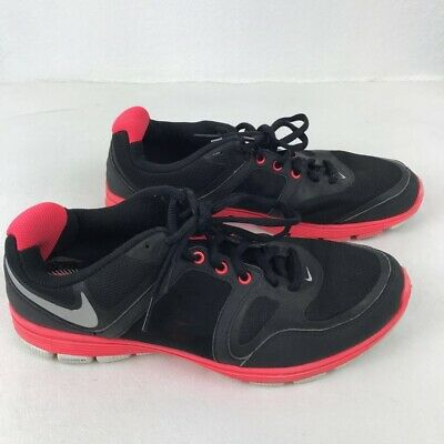 sale retailer aaa5d d61a9 Nike Training Womens Shoe Free XT Motion Fit Black Red Running Shoes  EUR40.5 9