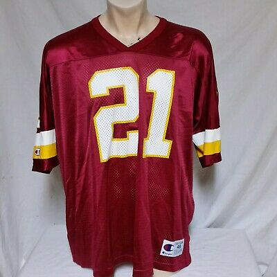 finest selection b43f1 9f400 VTG DEION SANDERS Washington Redskins Champion Jersey NFL Football  Throwback 48
