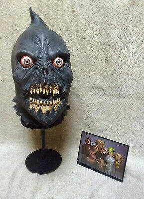 Cool Lifesize Executioner Head Signed by Rick Baker
