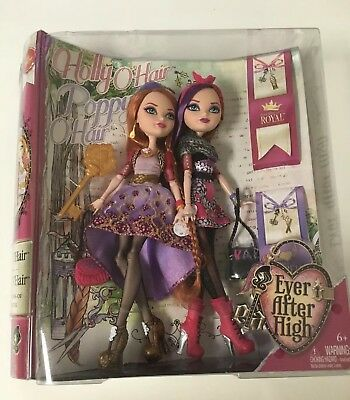 Ever After High Holly O'Hair and Poppy O'Hair Doll (2-Pack) New In Box