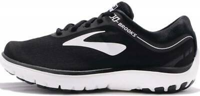 3f2de00c75d BROOKS PUREFLOW 7 Grey Black White Men Running Shoes Sneakers Sz 9 ...