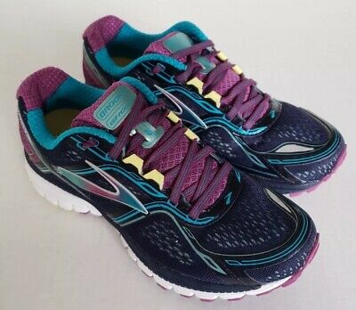 24afb343a08 Brooks  Ghost 8  Road Running Shoes in Peacoat Hollyhock Capri Breeze Womens
