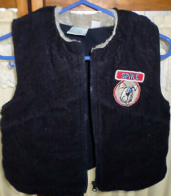 Baby Boy Baby World Vest~Navy Size 0