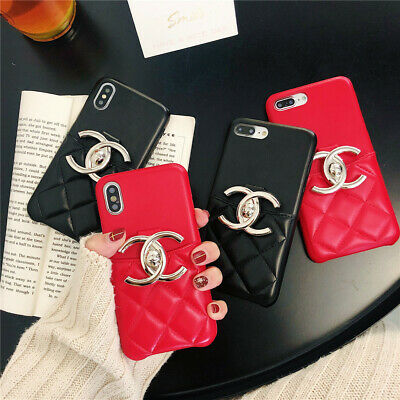 official photos aa36b 51733 For iPhone XS Max XR X 8 7 6s Plus Luxury Leather Card Holder Hybrid Case