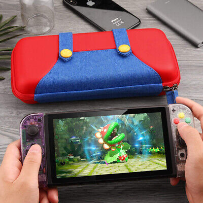 For Nintendo Switch Protective Storage Mario Bag Accessories Carrying Case E