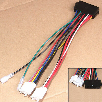 20P ATX To 2 Port 6Pin AT PSU Converter Power Cable For Computer 286 386 486` KK