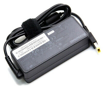 [C] Genuine Lenovo AC Adapter charger 65W 20V + Power cable  Square connector