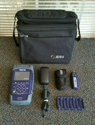 JDSU OLP-82 Power Meter with Visual Fault Locator & Accessories - FREE SHIPPING