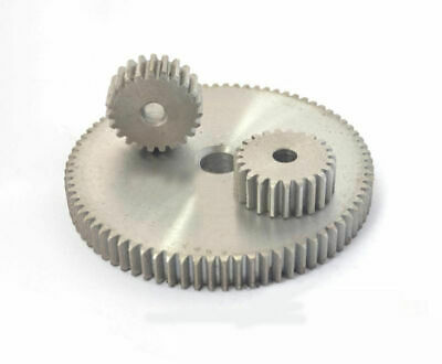 1 Modulus 12T-100T Spur Gear 45# Steel Motor Drives Pinion Gear Thickness 10mm
