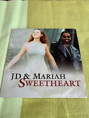 Mariah Carey Sweetheart Austria 🇦🇹 Single Cardboard Promo