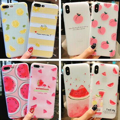 Summer Fruits 3D Soft Case Cover Protective Protective Shell for Smart Iphone