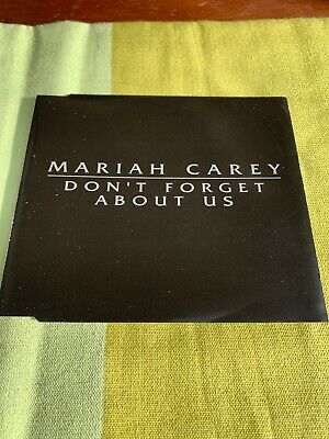 Mariah Carey Dont Forget About Us EU Single Promo