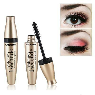 YANQINA Mascara Long Eyelash No-Blooming Thick Waterproof Lengthening Curling