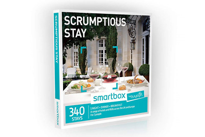 Buyagift One Night Scrumptious Stay Experience Gift Box - 340 overnight stays a