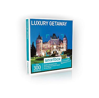 Buyagift Two Night Luxury Getaway Experience Gift Box - 300 deluxe two night for