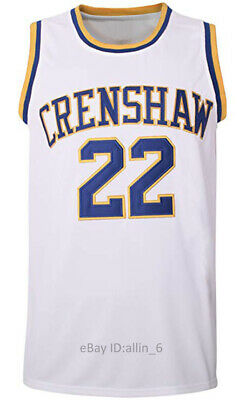 Quincy McCall #22 Crenshaw High School Men's Basketball Jersey Movie Stitched
