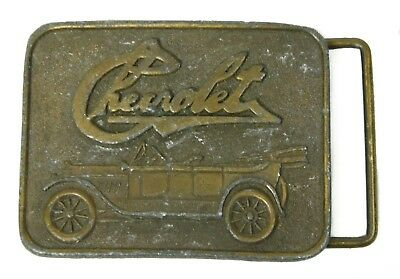 Vintage Chevrolet Classic Car Heavy Metal 712 Instyle Prov PI Belt Buckle