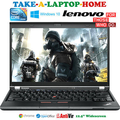 Very Fast Lenovo Gaming Laptop i5 2.6GHz TurboBoost 3.3GHz Intel HD 4000 Win10