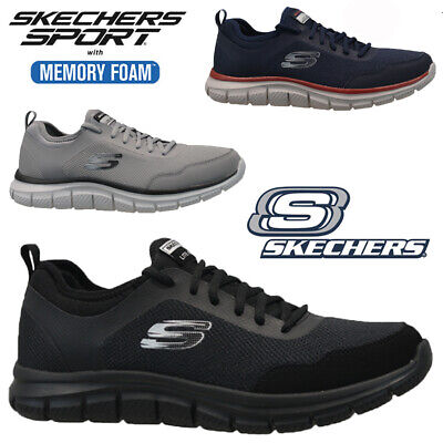 online retailer bfc17 e728a Mens Skechers Relaxed Fit Lite-Weight Memory Foam Walking Trainers Shoes  Size
