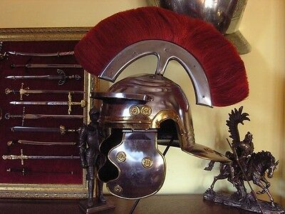 HELMET decorated Roman legionary with a comb AGI3816.09