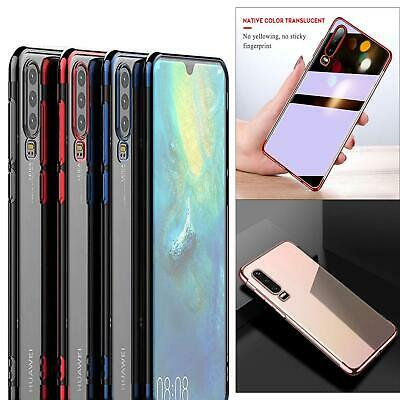 For Huawei P30 Pro Lite New Shock Proof Electroplating Bumper Gel Phone Case